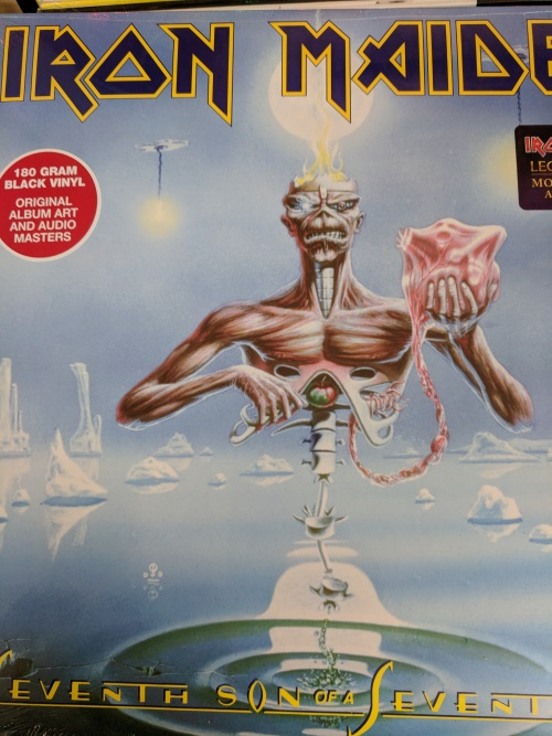 iron maiden vinyl record 7th son of seventh son