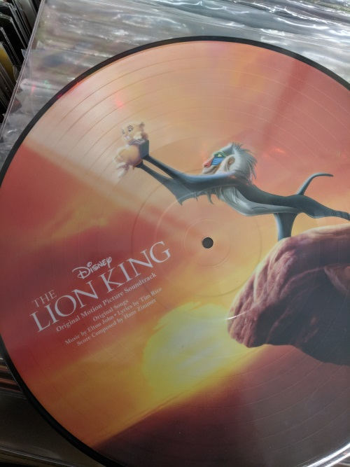 lion king picture album