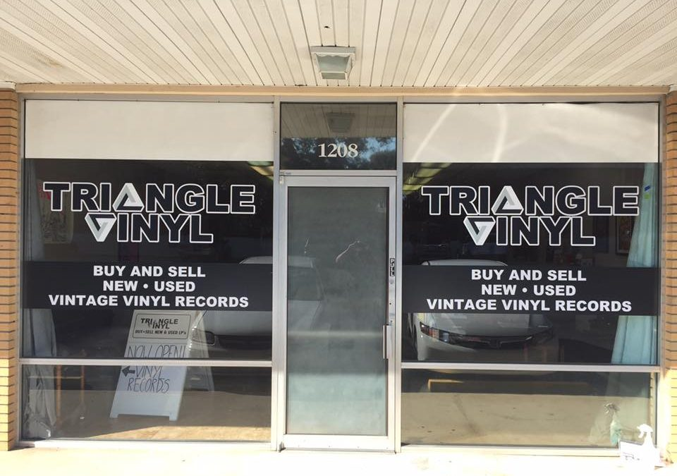 New Window Decals For Clermont Florida Record Store!