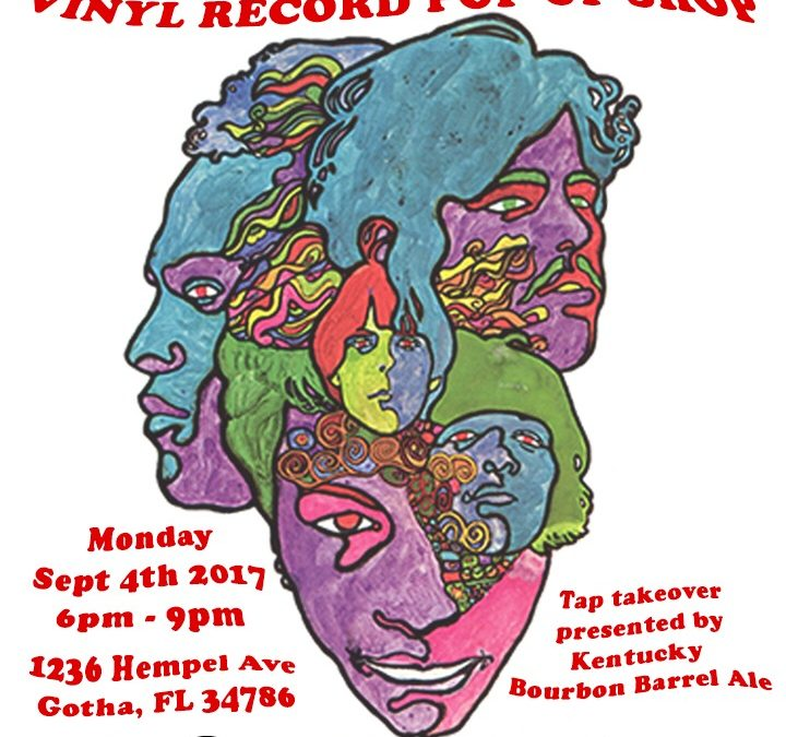 News! Vinyl Record Pop Up Shop On Labor Day At Yellow Dog Eats!