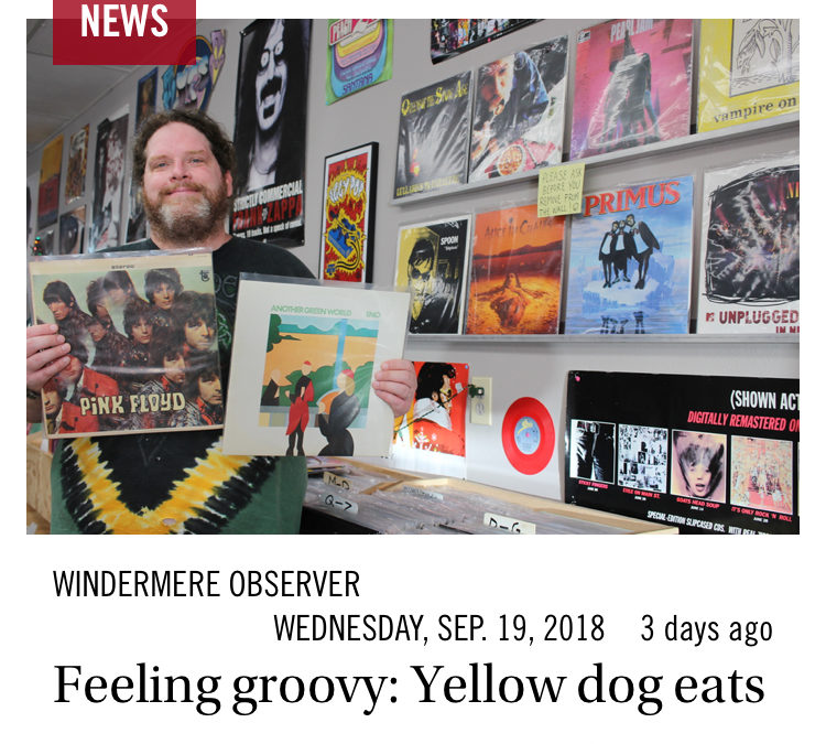 Triangle Vinyl in the News!