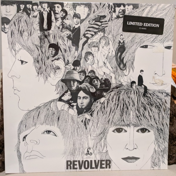 beatles revolver limited reissue vinyl record