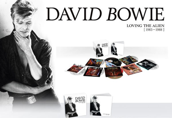RSD Black Friday Raffle! David Bowie BoxSet, Loving the Alien