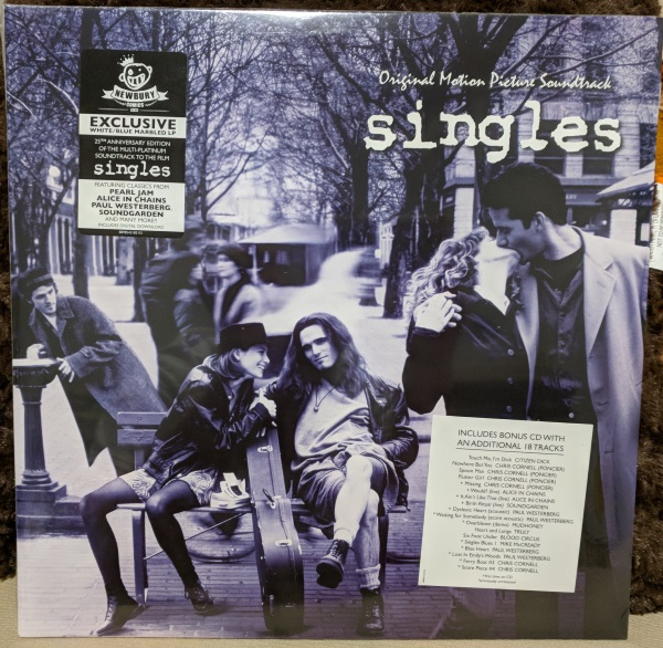 singles soundtrack vinyl lp record newbury comics issue