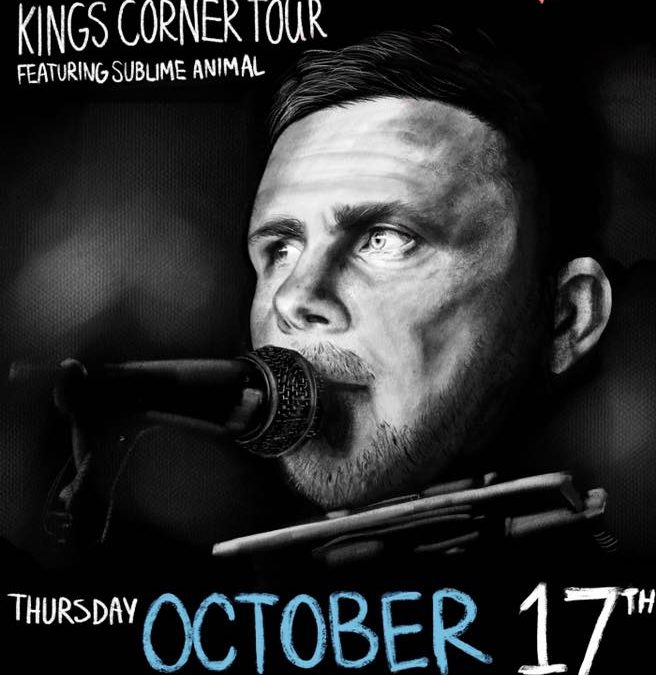 Bryan McPherson Kings Corner Tour 2019 on October 17th at 6pm at Triangle Vinyl